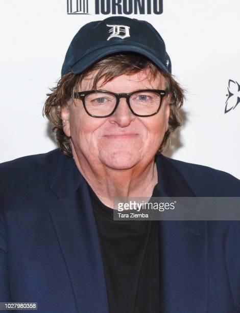 Filmmaker Michael Moore arrives to the 2018 Toronto International Film Festival premiere of 'Farenheit 11/9' at Ryerson Theatre on September 6 2018...