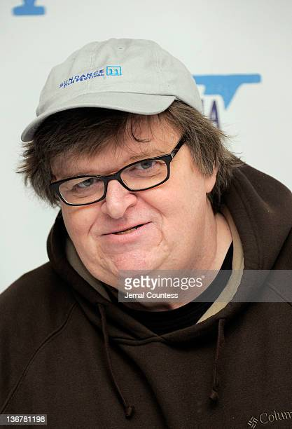 Filmmaker Michael Moore attends the 5th Annual Cinema Eye Honors for Nonfiction Filmmaking at the Museum of the Moving Image on January 11 2012 in...