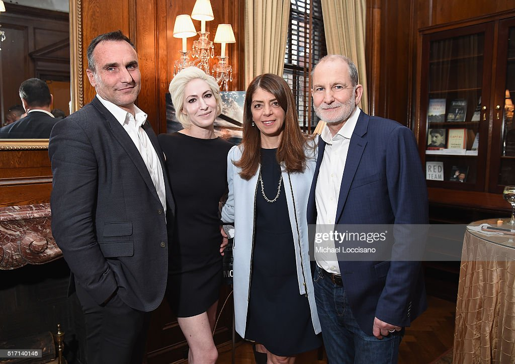 Filmmaker Michael Ware, Executive Producer Justine A. Rosenthal, SVP of HBO Documentary Films Nancy Abraham, and filmmaker Bill Guttentag attend the NYC screening of the HBO Documentary Film 'ONLY THE DEAD SEE THE END OF WAR' on March 23, 2016 in New York City.