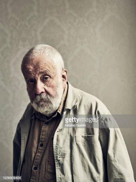 Filmmaker Mike Leigh is photographed for Self Assignment on September 2018 in Venice Italy