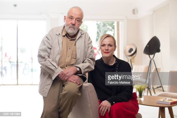 Filmmaker Mike Leigh Maxine Peake is photographed for The Hollywood Reporter on September 2018 in Venice Italy