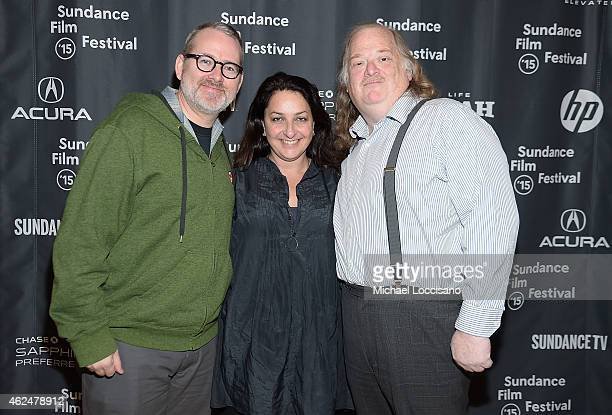 Filmmaker Morgan Neville Sundance Film Festival Director Special Programs and Senior Programmer Caroline Libresco and food critic Jonathan Gold...