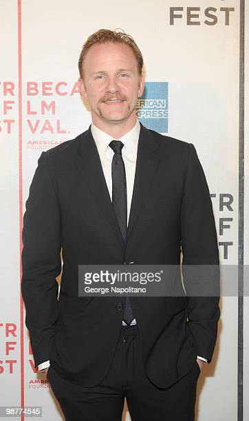 """Filmmaker Morgen Spurlock attends the """"Freakonomics"""" premiere during the 9th Annual Tribeca Film Festival at the Tribeca Performing Arts Center on..."""