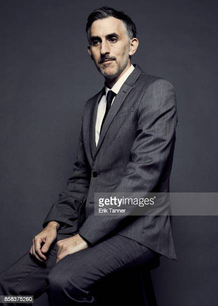 Filmmaker Myles Kane of the film 'Voyeur poses for a portrait at the 55th New York Film Festival on October 5 2017