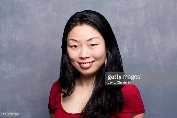 Filmmaker Nanfu Wang of 'Hooligan Sparrow poses for a portrait at the 2016 Sundance Film Festival on January 23 2016 in Park City Utah CREDIT MUST...
