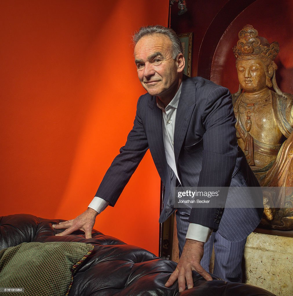 Filmmaker Nick Broomfield is photographed at the Charles Finch and Chanel's Pre-BAFTA on February 7, 2015 in London, England. PUBLISHED
