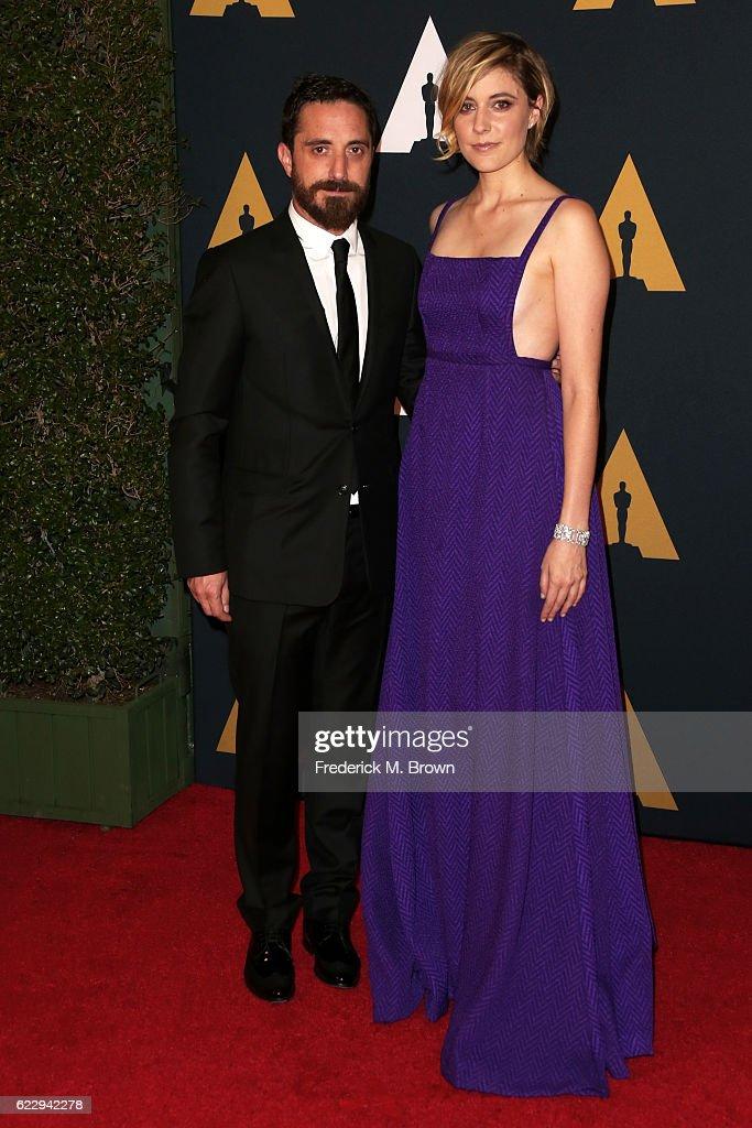Filmmaker Noah Baumbach and actress Greta Gerwig attend the