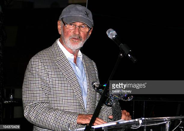 Filmmaker Norman Jewison at City Park Rooftop on September 13, 2010 in Toronto, Canada.