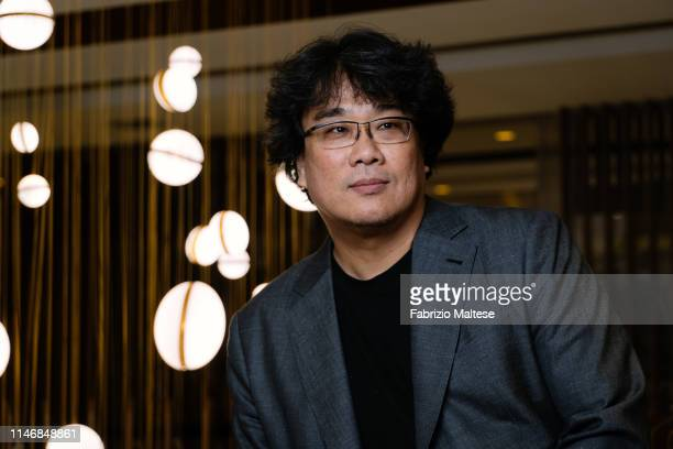 Filmmaker of 'Parasite' Bong Joonho poses for a portrait on May 20 2019 in Cannes France