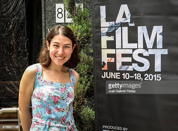 Filmmaker Oleksandra Chuprina attends the AFS Luncheon during the 2015 Los Angeles Film Festival at Casa Nostra on June 11, 2015 in Los Angeles,...
