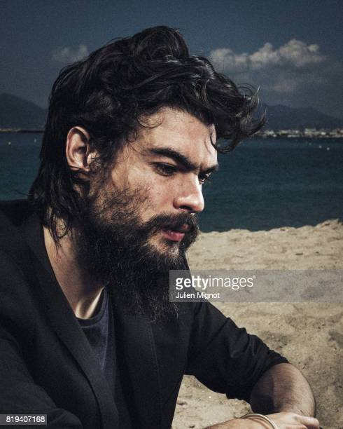 Filmmaker Oliver Laxe is photographed for Grazia Magazine on May 17 2016 in Cannes France