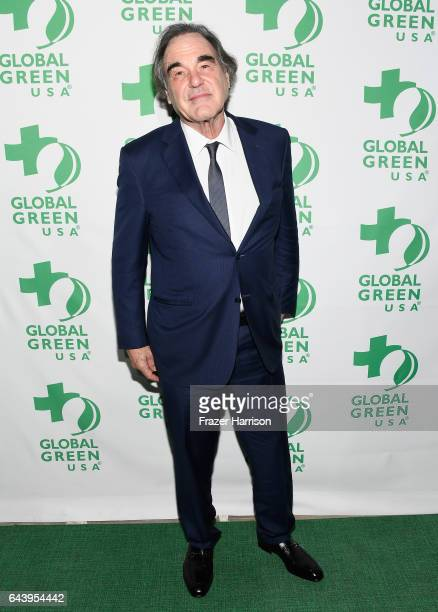 Filmmaker Oliver Stone attends the 14th Annual Global Green Pre Oscar Party at TAO Hollywood on February 22 2017 in Los Angeles California