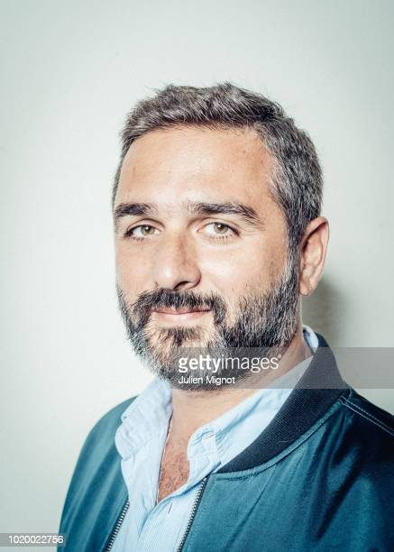 Filmmaker Olivier Nakache is photographed for Self Assignment on August 2017 in Paris France