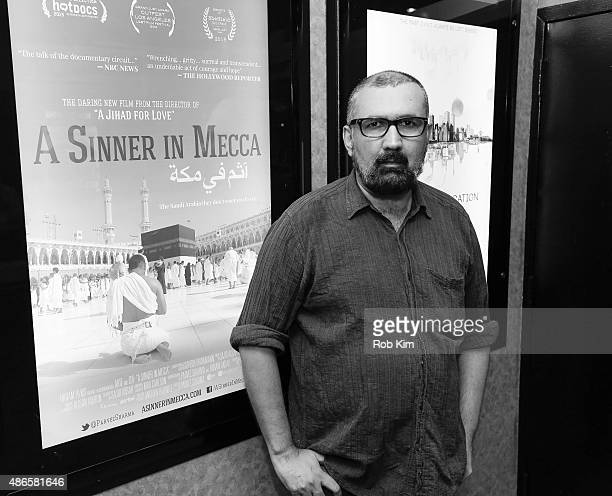 Filmmaker Parvez Sharma attends the New York premiere of 'A Sinner In Mecca' at Cinema Village on September 4 2015 in New York City
