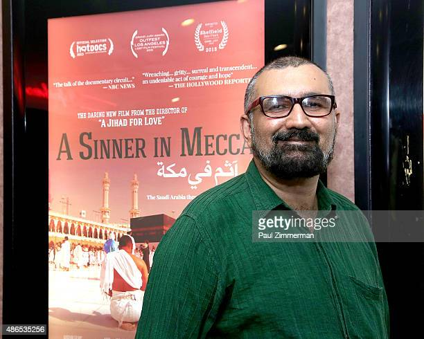 Filmmaker Parvez Sharma attends the theatrical premiere of 'A sinner In Mecca' New York premiere at Cinema Village on September 4 2015 in New York...