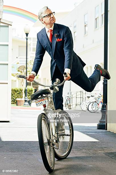 Filmmaker Paul Feig is photographed for Wired Magazine on May 17 2016 in Los Angeles California