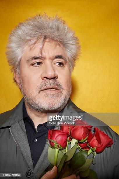 Filmmaker Pedro Almodovar poses for a portrait on February 15, 2013 in Paris, France.