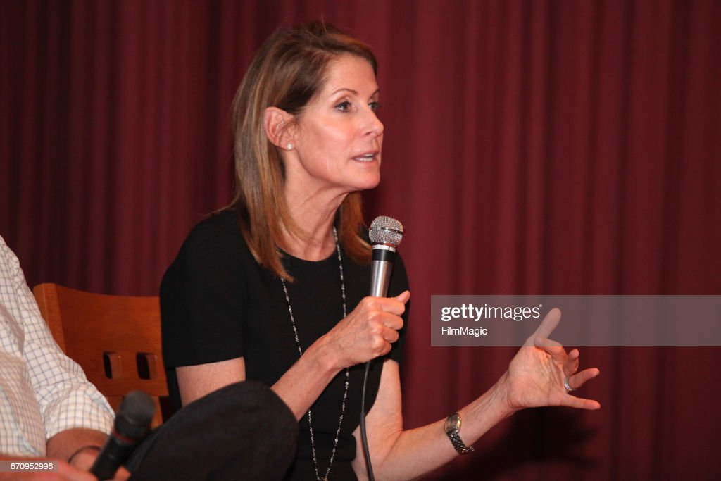 Filmmaker Perri Peltz speaks onstage after the San Francisco premiere of 'Warning: This Drug May Kill You' on April 20, 2017 in San Francisco, California.