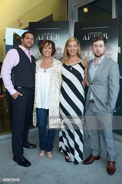 Filmmaker Pieter Gaspersz actress Kathleen Quinlan filmmaker Sabrina Gennarino and actor Adam Scarimbolo attend 'After' Los Angeles premiere at...