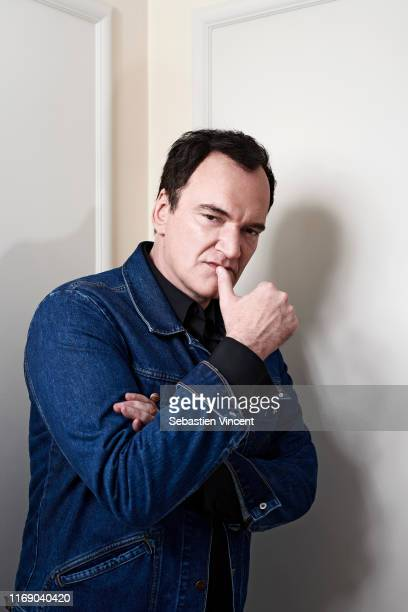 Filmmaker Quentin Tarantino poses for a portrait on May 23, 2019 in Cannes, France.