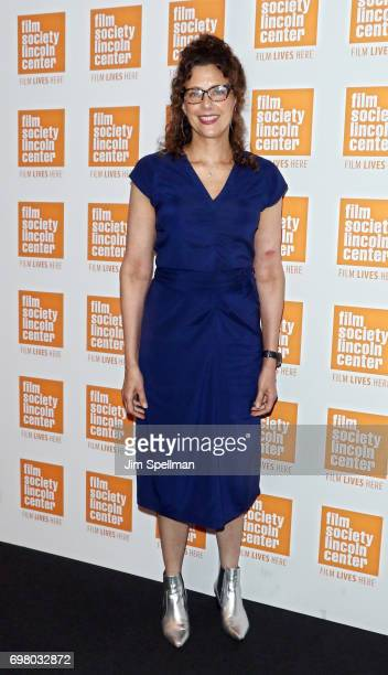 Filmmaker Rebecca Miller attends An Evening For Film In Education hosted by the The Film Society of Lincoln Center at Walter Reade Theater on June 19...