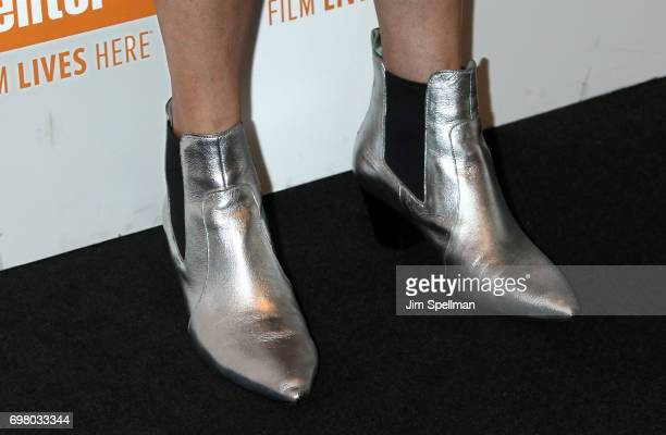 Filmmaker Rebecca Miller shoe detail attends An Evening For Film In Education hosted by the The Film Society of Lincoln Center at Walter Reade...