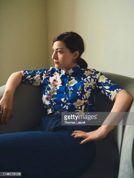 Filmmaker Rebecca Zlotowski poses for a portrait on May 20 2019 in Cannes France