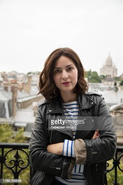 Filmmaker Rebecca Zlotowski poses for a portrait on September 22, 2016 in Paris, France.