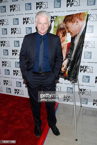 Filmmaker Richard Curtis attends the About Time premiere during the 51st New York Film Festival at Alice Tully Hall at Lincoln Center on October 1...