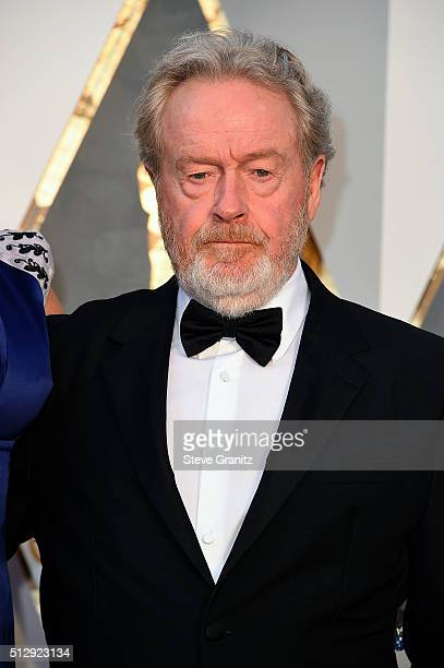 Filmmaker Ridley Scott attends the 88th Annual Academy Awards at Hollywood Highland Center on February 28 2016 in Hollywood California