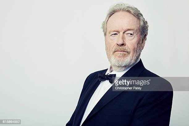 Filmmaker Ridley Scott poses for a portrait at the 2016 American Cinematheque Awards on October 14 2016 in Beverly Hills California