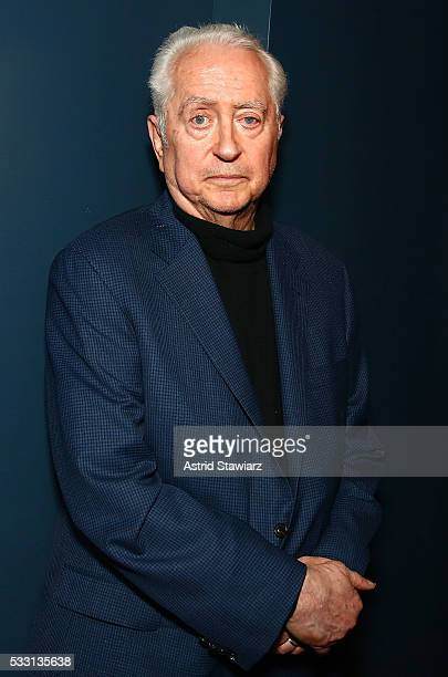 Filmmaker Robert Downey Sr poses for photos during 'An Evening With Robert Downey Sr' at Film Forum on May 20 2016 in New York City