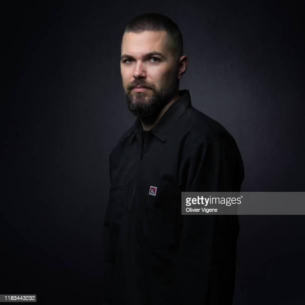 Filmmaker Robert Eggers poses for a portrait on September 13 2019 in Paris France