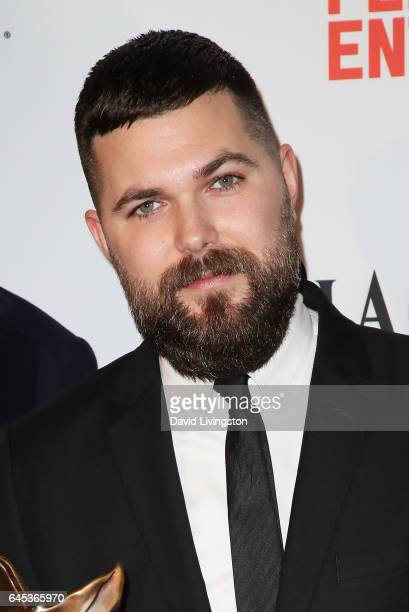 Filmmaker Robert Eggers winner of the Best First Screenplay award for 'The Witch' poses in the press room during the 2017 Film Independent Spirit...
