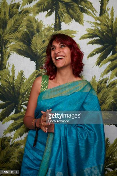 Filmmaker Rohena Gera is photographed for Self Assignment, on June, 2018 in Cabourg, France. . .