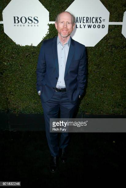 Filmmaker Ron Howard attends the Esquire's Annual Maverick's of Hollywood at Sunset Tower on February 20 2018 in Los Angeles California