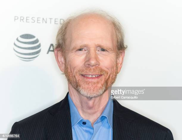 Filmmaker Ron Howard attends the 'Genius' Premiere during the 2017 Tribeca Film Festival at BMCC Tribeca PAC on April 20 2017 in New York City