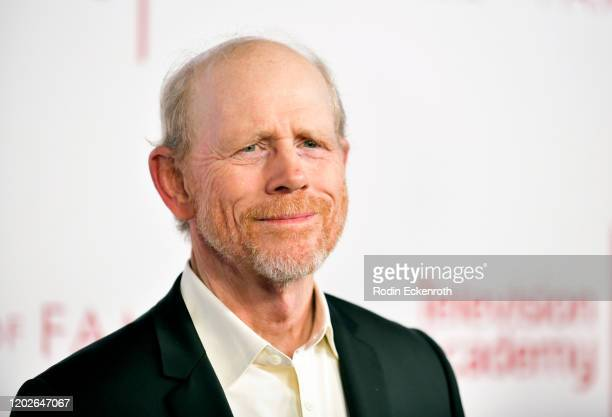 Filmmaker Ron Howard attends the Television Academy's 25th Hall Of Fame Induction Ceremony at Saban Media Center on January 28 2020 in North...