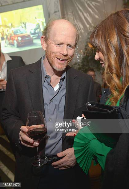 "Filmmaker Ron Howard attends Vanity Fair and the Fiat brand Celebration of ""Una Notte Verde"" with Hans Zimmer and Ron Howard in support of The United..."