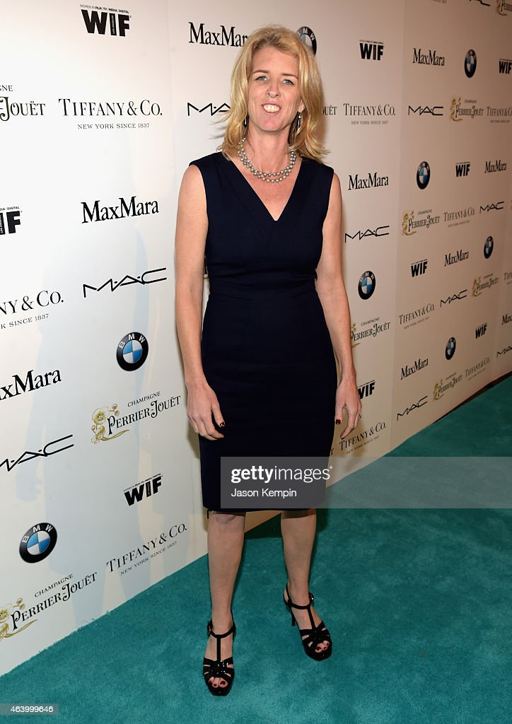 Filmmaker Rory Kennedy attends Women In Film Pre-Oscar Cocktail Party presented by MaxMara, BMW, Tiffany & Co., MAC Cosmetics and Perrier-Jouet at Hyde Sunset Kitchen + Cocktails on February 20, 2015 in Los Angeles, California.