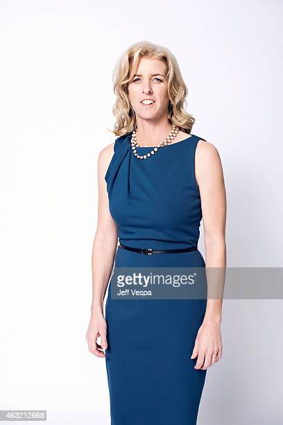 Filmmaker Rory Kennedy poses for a portraits at the 87th Academy Awards Nominee Luncheon at the Beverly Hilton Hotel on February 2 2015 in Beverly...