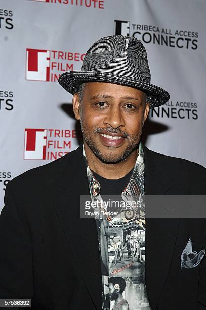 Filmmaker Ruben Santiago-Hudson attends the TAA Closing Night Party during the 5th Annual Tribeca Film Festival May 4, 2006 in New York City.