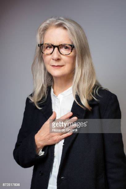 Filmmaker Sally Potter poses for a portrait during the 12th Rome Film Festival on October 2017 in Rome Italy