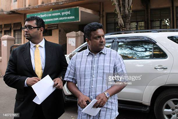 Filmmaker Sanjay Gupta outside the session court on March 5 2012 in Mumbai India The session court denied him anticipatory bail Sanjay Gupta is...
