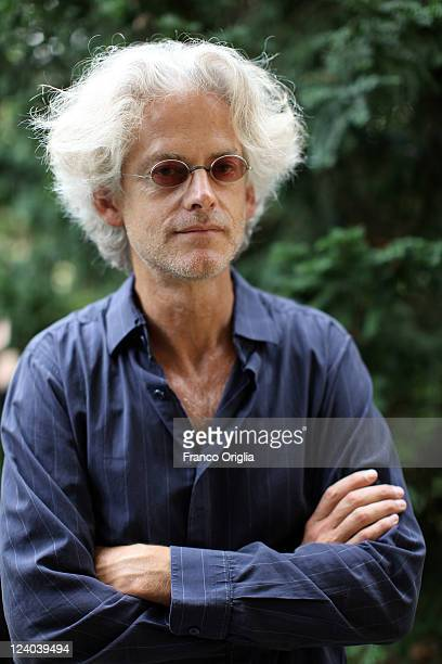 Filmmaker Santiago Amigorena from the film 'Another Silence' poses during a portrait session at the Unifrance/Quattre Fontane during the 68th Venice...