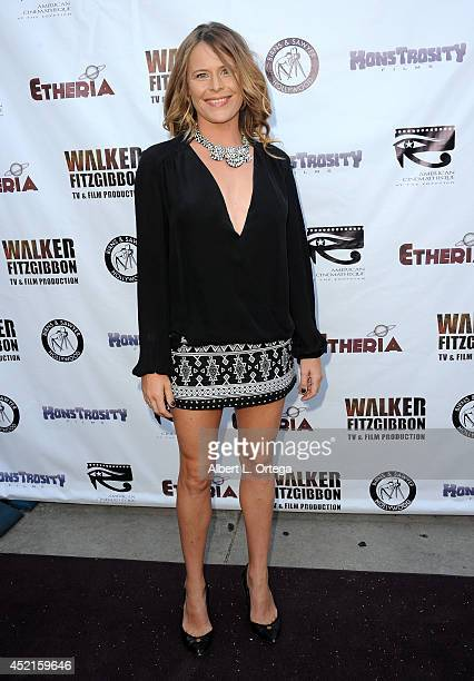 Filmmaker Sarah Doyle arrives for the 2014 Etheria Film Night held at American Cinematheque's Egyptian Theatre on July 12 2014 in Hollywood California