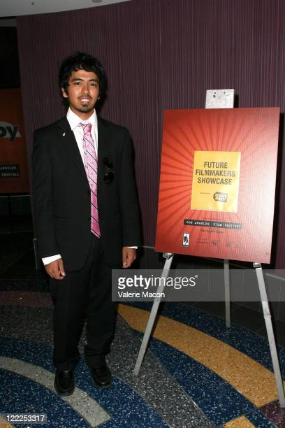 Filmmaker Sergei Devo Acuna attends the Future Filmmakers 2 during the 2010 Los Angeles Film Festival at Regal Cinemas at LA Live Downtown on June...