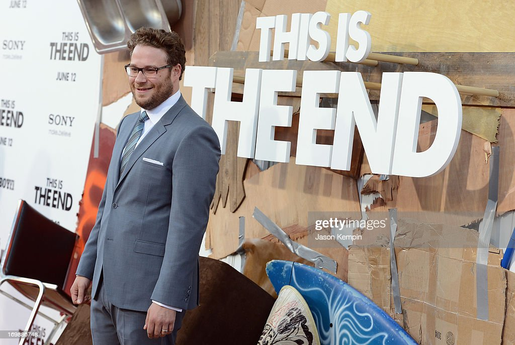 Filmmaker Seth Rogen attends the Premiere of Columbia Pictures' 'This Is The End' at Regency Village Theatre on June 3, 2013 in Westwood, California.