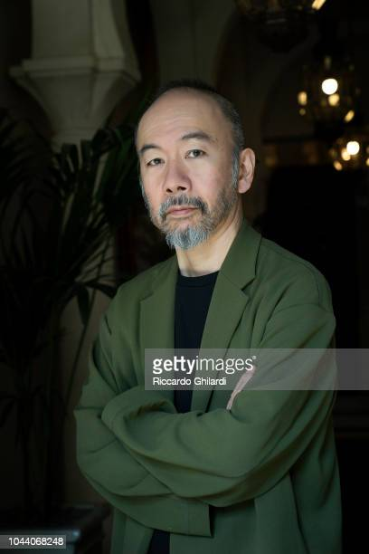 Filmmaker Shin'ya Tsukamoto is photographed for Self Assignment on September 2018 in Venice Italy