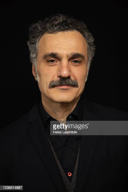 Filmmaker Siamak Etemadi poses for a portrait on February 25 2020 in Berlin Germany